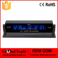Car Digital Clock In-and-out Door Thermometer. A1298.