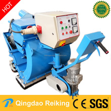 Steel plate asphalt surface movable portable shot blast machine