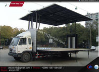 mobile stage truck for roadshow,flow stage truck,stage truck trailer manufacturer