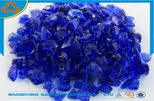 Decorative recycled broken crushed scrap glass cullet