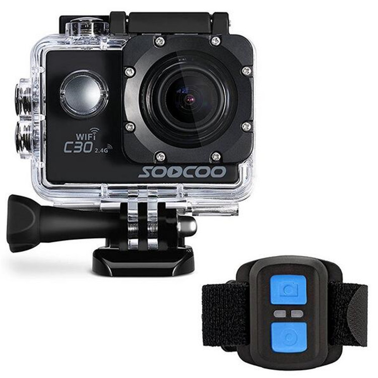 SOOCOO C30 / C30R Action Sport Waterproof Camera NTK96660 20MP 4K Wifi 1080P/60FPS Go Underwater HD Bike Outdoor pro Camera Cam