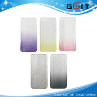 Popular PC Hard Gradient Color Case For iPhone 5 PC Case