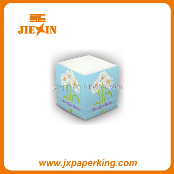 Promotional Memo Cube, Wooden Pallet Memo Cube Sticky Pad