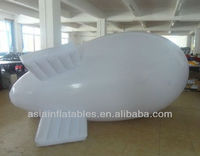 Inflatable tethered blimp/professional manufacturer custom inflatable rc blimp with logo