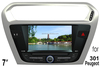 (for PEUGEOT 301) 7 inch two din Car DVD Player with GPS, bluetooth