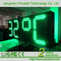 TIME&TEMP Humidity digital clock led display