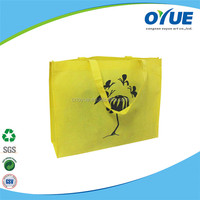 Hot sale customized silk print non woven bag