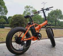China made green city modern fat tyre electric bike with 350w hub motor