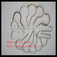 Fashinable Metal Clothes Hanger Hook, Flat Iron Hanger Hook