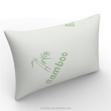 Queen size Shredded Memory Foam bamboo pillow