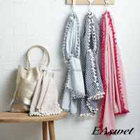 EAswet 2015 Latest Fashion Design Hotel Bed Wholesale Blankets And Throw,Cotton And Bamboo Throws