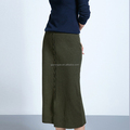 Wholesale women wear designer long skirts