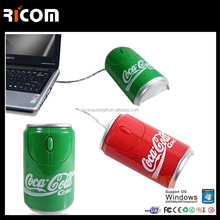 cola bottle shape Optical Mouse, invention computer mouse --MO7007-----Shenzhen Ricom