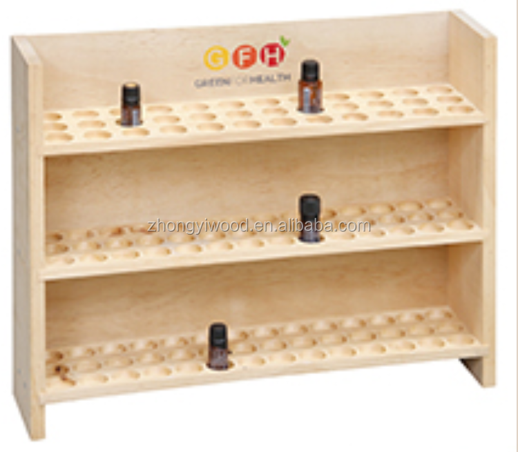 3-tier 126 bottles essential oil box essential oil display cabinet
