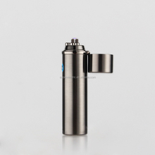 2017 NEW Custom Metal Multifunction Smoke Plasma USB Electric Lighter, Rechargeable Electronic Pipe and Cigar Dual Arc Lighter