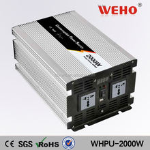 Dc to ac 110v 12v hybrid solar inverter 2000w with charger