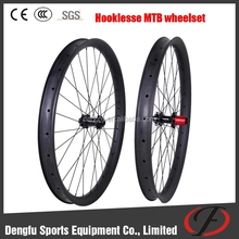 Dengfu bikes carbon 27.5er mtb wheels hot sale 50mm wide clincher wheeslet