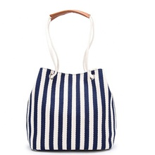 JUNYUAN 2019 High Quantity Cotton Canvas <strong>Tote</strong> Hand Bag Beach Handbags For Woman