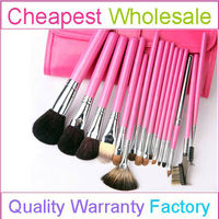 Portable Wholesale Cosmetic Brush Set With