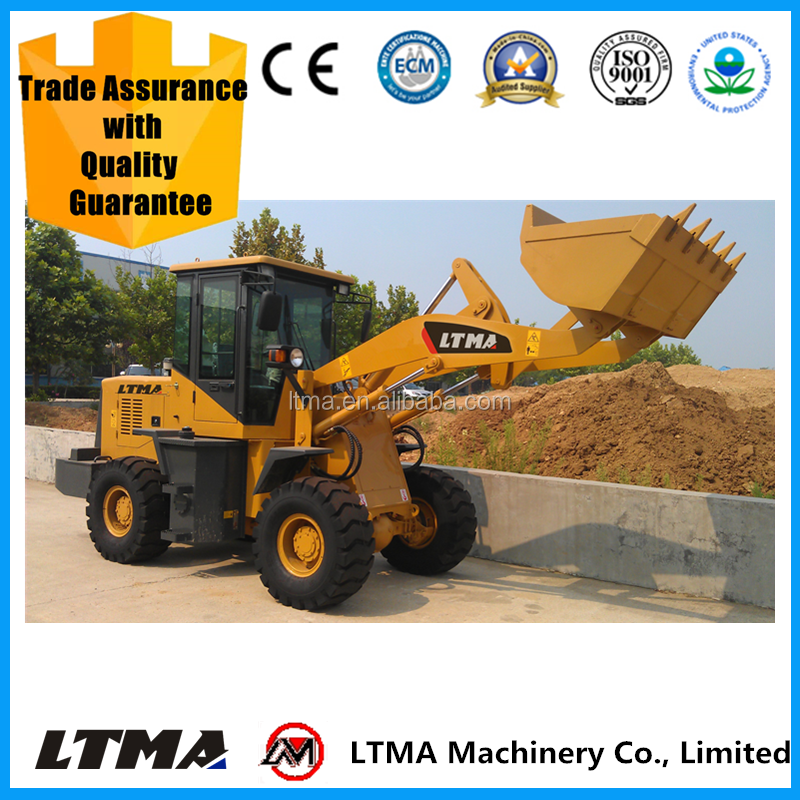 LTMA LT918 mini 1.5 ton wheel loader price