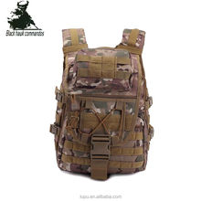 GuangZhou Factory Camouflage webbing combat tactical bag pack Hiking Backpack