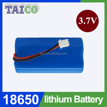 Li ion Rechargeable Cylindrical Battery 18650 1s2p 3.7v 4000mah