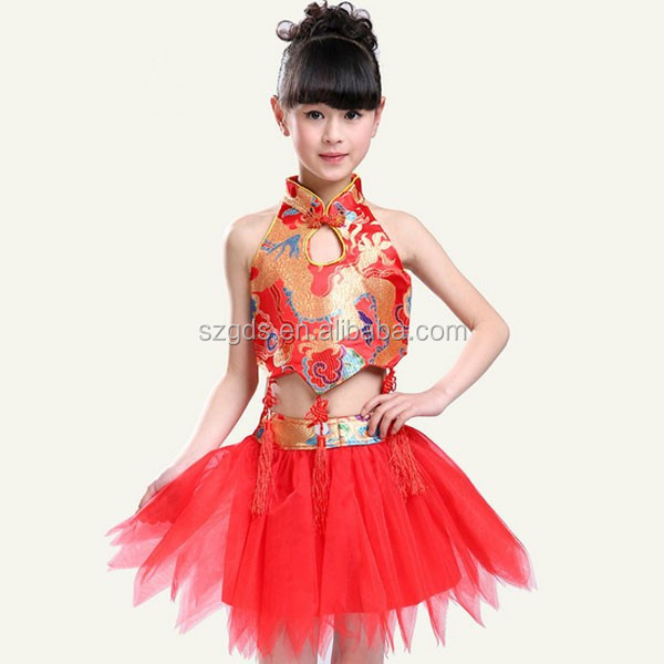 Popular NEW 2015 Single piece Shinny Sequined Children red latin dance dress Wholesale Cheap Price Red/Blue/Rose