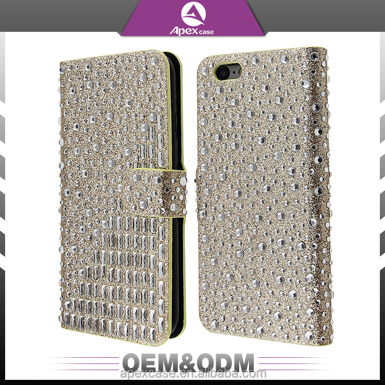 2017 New design bling bling rhinestone mobile phone case for galaxy tab phone case