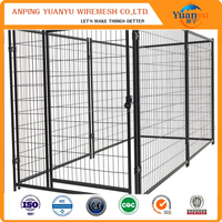 Good quality metal waterproof dog kennel / dog house