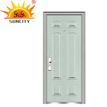 fancy indian door design 6 panel modern entry door