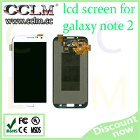 wholesale price for samsung galaxy note 2 lcd display, lcd touch screen replacement for note 2