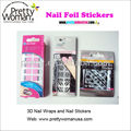 Adhesive Nail Stickers 3D Nail Art Stickers Easy DIY Nail Design Salon Manicure Nail Kits