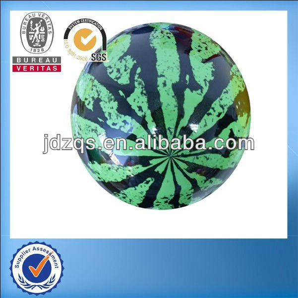 Children Beach Summer Party Inflated PVC Watermelon Ball Toy 6.7""