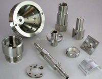 Aluminum cnc finish shiny machined assembly parts