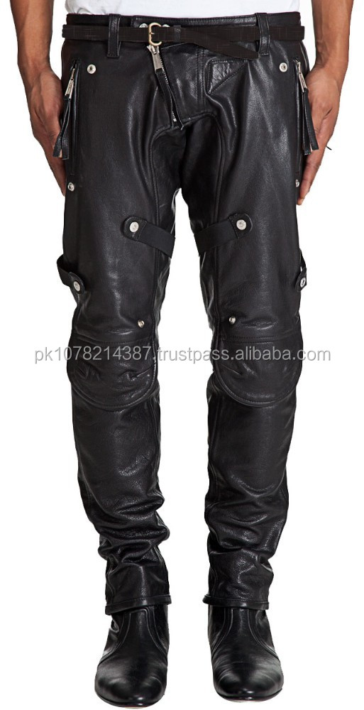 DISTINCTIVELY UNIQUE LEATHER PANT FOR MEN GENUINE LEATHER SEXY PANTS
