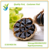 organic fermented black garlic,natural aged balck garlic