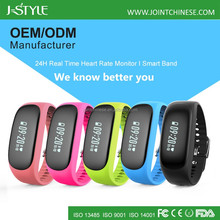 Jstyle fitness bracelet heart rate/step counter Walking Calorie Distance /activity tracker bracelet