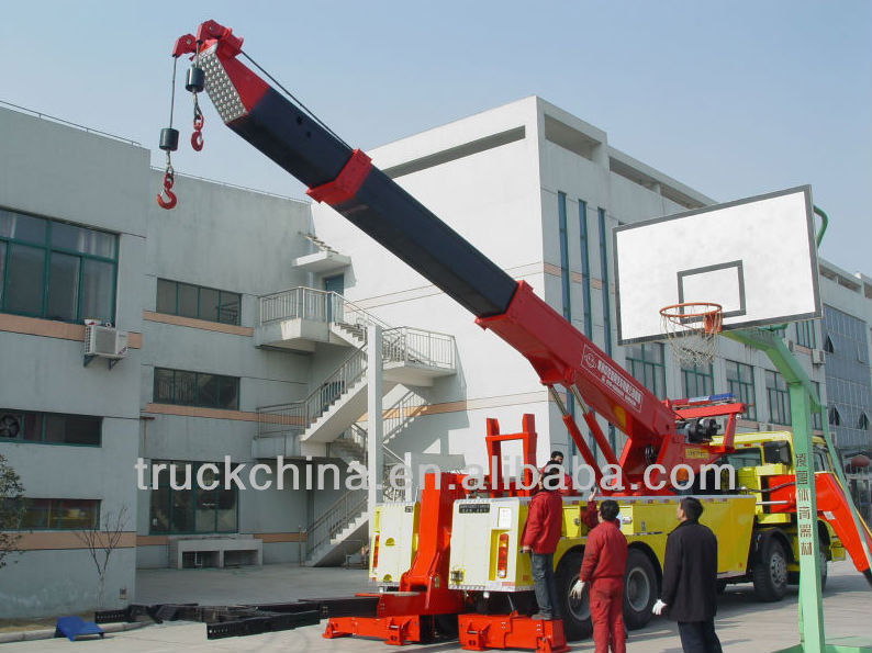 Rotator Wrecker 20-30 ton Heavy Duty Rotator Tow Truck Heavy Recovery Trucks Armored Trucks For Sale