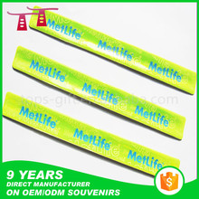 high visibility reflective snap slap bands