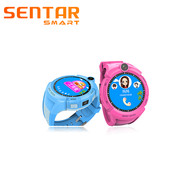 MTK2503 L60 Kids Favorite Round Wrist Phone CE Rohs Smart Watch