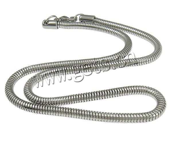 304 Stainless Steel Other Shape Lobster Clasp Snake Chain Bracelets