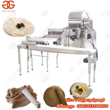 Best Selling Stainless Steel Automatic Mini Crepe Making Pastry Sheet Baking Injera Production Line Spring Roll Pastry Machine
