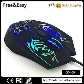 OEM high quality usb receiver DPI adjustable professional gaming mouse