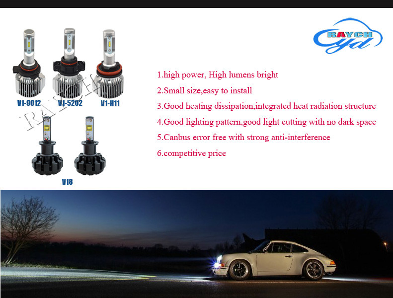 1X Led Motorcycle Headlights Bulbs BA20D 12W/20W 1200LM/2000LM Hi Lo Beam Moto Light Bulbs For Motorbike Motorcycle Accessories