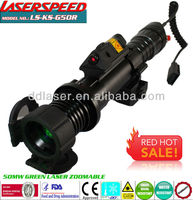 50mw GREEN LASER DESIGNATOR hunting rifle scope+ RED LASER SIGHT