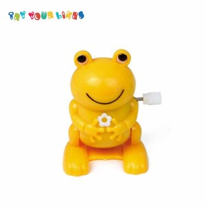 Educational Kids Baby Wind Up Walking Frog Toy for Birthday Gift