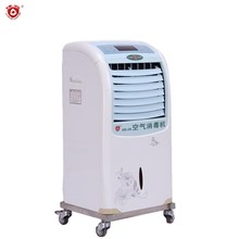 mobile white ozone air cleaner 220V cheap air purifiers home portable air ozone ionizer with uv light