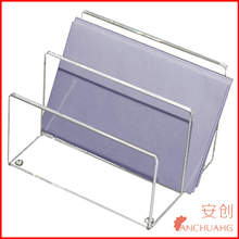 Clear Acrylic Office Mini Paper Sorter Two Section,6 x 4 x 4 Inches