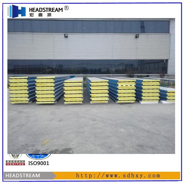 Competitive price big rib glasswool wall board with low price