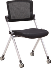 popular hot sale office and school folding training chair without armrest